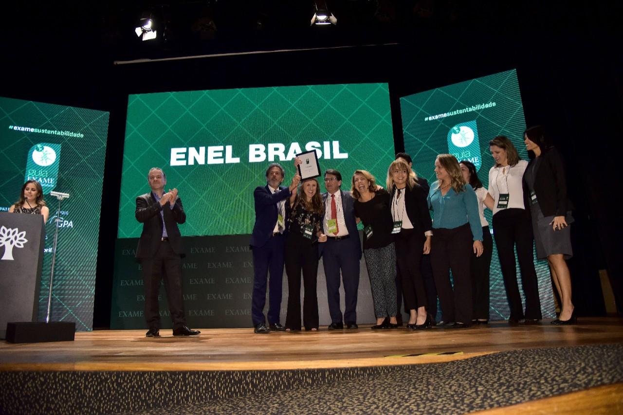 Enel  a empresa mais sustentável do ano 9f2a6defdc