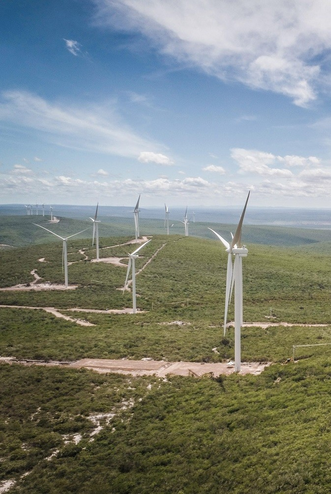 Morro do Chapéu: new wind facility in Bahia